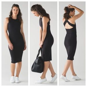 Black Lululemon Picnic Play Dress